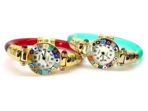Murano bangle watches