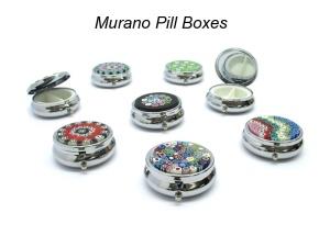 Murano Pill Boxes
