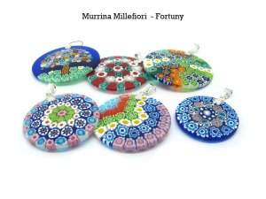 Murrine, millefiori, murano glass