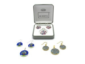 Murano Glass Set